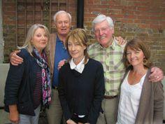 Anneke Wills ( Polly)                                                     William Russel ( Ian) Jean Marsh (Sara)                                                        Peter Purves ( Steven)                                              Sarah Sutton ( Nyssa)