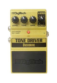 Digitech Tone Driver Pedal - BC Wholesalers Why settle for one overdrive sound when you can have three overdrive pedals built into one stomp box!