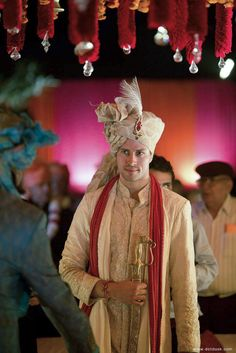 A Delhi Wedding with a Foreign Connection: Arti & Dennis - Wedding Outfits For Groom, Wedding Dress Men, Wedding Wear, Wedding Suits, Sherwani For Men Wedding, Indian Groom Wear, Wedding Wishlist, Wedding Couple Poses Photography, India Wedding