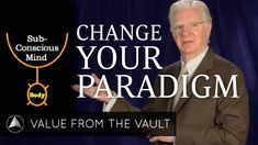 Bob Proctor explains how paradigms--a multitude of habits that are lodged in your subconscious mind—affect your behavior and your results. He also explains how to shift a paradigm to change your life forever.