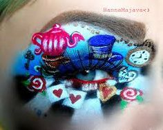 alice in wonderland face painting ideas