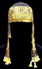 Gold jewelry found at the site of ancient Troy, by Schliemann
