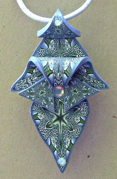 Denim Goddess Pendant