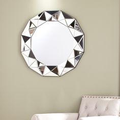 Harper Blvd Travers Decorative Mirror   Overstock.com Shopping - The Best Deals…