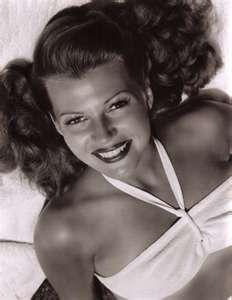 rita hayworth--I found your twin, seriously! @Quinn Sackreiter.