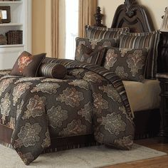 michael amini sienna luxury bedding ensemble