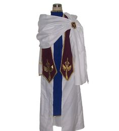 Costumes & Accessories Code Geass R2 Schneizel El Britannia Party Anime Clothing Uniform Cosplay Costume Blue Full Set