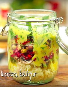 Kaszotto, czyli sałatka z kaszą bulgur | Jedz inaczej