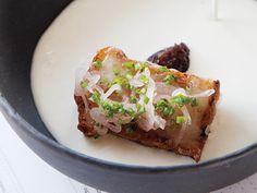 Creamy White Onion Soup Recipe  at Epicurious.com