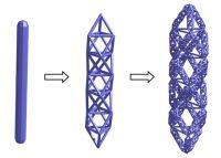 Generating fractal space frames - Grasshopper