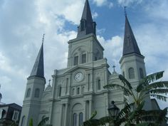 From the middle of Jackson Square