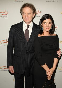 Kevin Kline & Phoebe Cates, married in 1989 & have 2 children