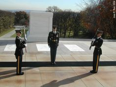 Tomb of the Unknown Soldier at Arlington Cemetery