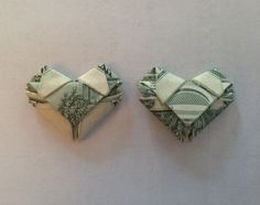 How to Fold Dollar/any Bill Into a Heart - Origami