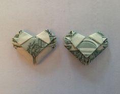 How to Fold Dollar/any Bill Into a Heart - Origami