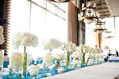 SCF Events (florist)  Read More: http://www.stylemepretty.com/2013/10/10/houston-wedding-at-the-petroleum-club-from-joshua-tyi/