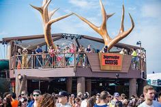 How Jägermeister Is Wooing Millennials at EDM Fests || The liqueur brand has combined education and whimsy in a huge treehouse-like structure.