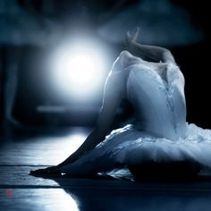 Swan Lake, from the wings