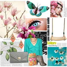 May Flowers, created by haldermania on Polyvore