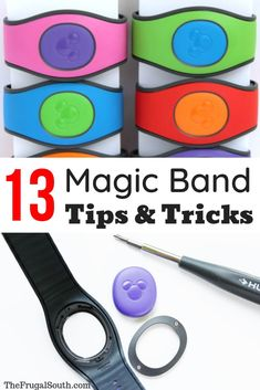 12 tips and tricks for using MagicBands at Disney World! How to have the best possible experience with Magic Bands on your Disney vacation. MagicBands are one of my favorite parts of a Disney vacation. Having my room key, credit Disney World Vacation Planning, Disney World Florida, Disney World Parks, Walt Disney World Vacations, Disney Planning, Vacation Ideas, Disney Worlds, Family Vacations, Disney Souvenirs