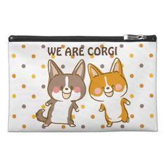 we are welsh corgi travel accessory bag - accessories accessory gift idea stylish unique custom