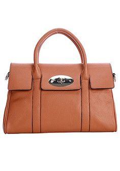 Rebecca Cowhide Leather Shoulder Bag Brown    http://www.squidoo.com/fabulous-designer-imitation-bags
