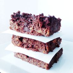 Almond Butter Sweet Potato Brownies