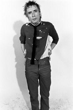punk fashion - Johnny, I think?