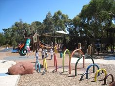 Hays Paddock, Kew East, one of the best playgrounds in the Melbourne area, – Natural Playground İdeas Melbourne Area, Melbourne Australia, Park Playground, Playground Ideas, Places To Take Toddlers, Beautiful Park, Victoria Australia, Day Trips, Places To See