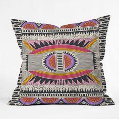Holli Zollinger Namais Throw Pillow   DENY Designs Home Accessories