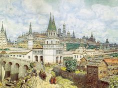 Moscú hace muchos años