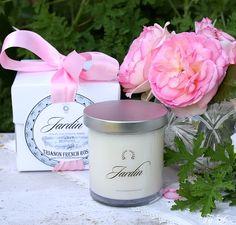 Luxury JARDIN Organic Soy Candle