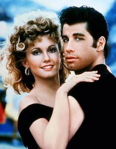 Grease...jammin' out to this in Germany on our way to swim meets.