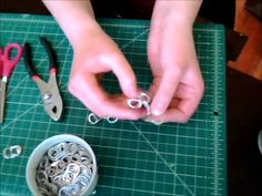DIY Pop Tab Chainmail Part 2 - YouTube