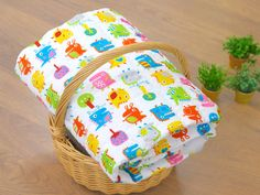 Quilted Rayon Fabric with Dinosaur Off White by BonitaFabric, $19.50