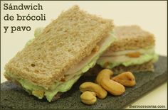 Tapas, Ideas Sándwich, Sandwiches, Food, Salads, Recipes, Cooking Recipes, Meals, Pasta Con Broccoli