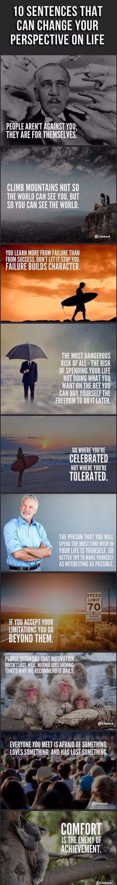 Ten sentences...   #society #life