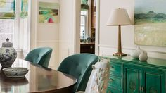 In Living Color: Boston Suburb < prev project | next project > Coming from a coastal environment to Boston, this family wanted the palette to recall the ocean---greens, blues, turquoises were...