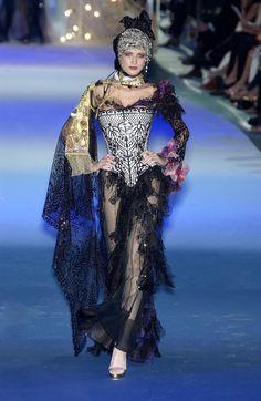 Christian Lacroix haute couture  runway
