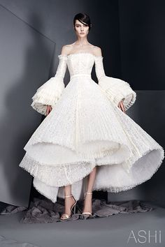 """Ashi Studio presents the """"Whispers"""" Haute Couture Spring/Summer 2017 Bridal Collection"""