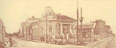 Timisoara - Strada Gheorghe Doja în anul 1900 cu barieră de pe linia ferată Timisoara - Baziaş