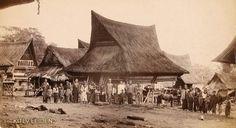 Bedehuis te Koetaradja 1881. House of worship.