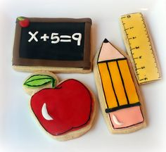 Teacher appreciation cookies., via Flickr.