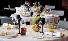 Europa barata: Portugal - por Adriana Setti, Viaje Aqui - Abril 02.08.2012 | Foto: Mesas do restaurante Feitoria, em Lisboa, Portugal
