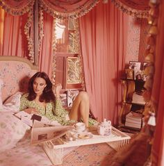 "Vogue called Diane von Furstenberg's Manhattan digs a ""glamour-star's pad."" She said it was ""a woman's apartment,"" and decorated it in pink."