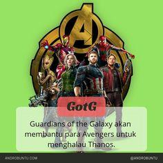 Guardian of the Galaxy akan membantu para Avengers di avenger: Infinity War. Sumber: Androbuntu.com
