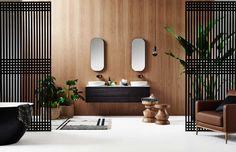 Australian brand Reece has teamed up with Zuster for the release of 2 luxury hotel-inspired furniture collection set to transform the future of the bathroom