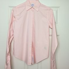 Brooks Brothers Cufflink Blouse (Women) NWOT but missing the cuff links Brooks Brothers Tops Blouses