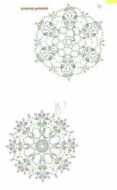New crochet jewelry diagram picasa Ideas Crochet Pillow Patterns Free, Crochet Snowflake Pattern, Crochet Stars, Crochet Snowflakes, Crochet Flower Patterns, Doily Patterns, Crochet Flowers, Mandala Au Crochet, Crochet Motifs