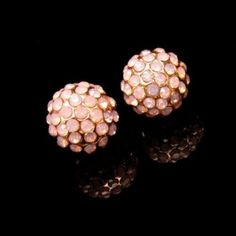 Small Pink stone stud earrings - Great for everyday!